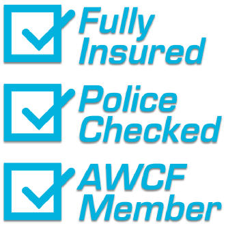 Professional Cleaning - Fully Insured / Police checked / AWCF Member